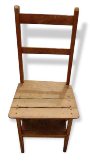 chaise escabeau bois best chaise escabeau ancienne with chaise