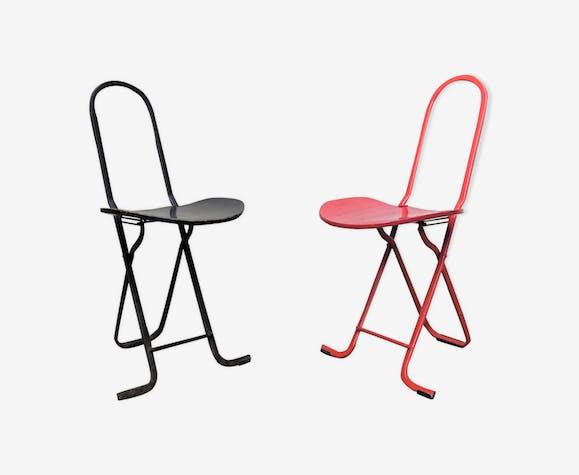 Lot de 2 chaises par Gastone Rinaldi pour Thema