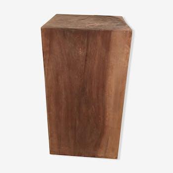 Bout de canapé bois