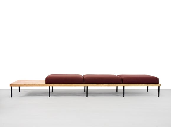 Minimalist Oak Wooden Design Bench Sofa Selency
