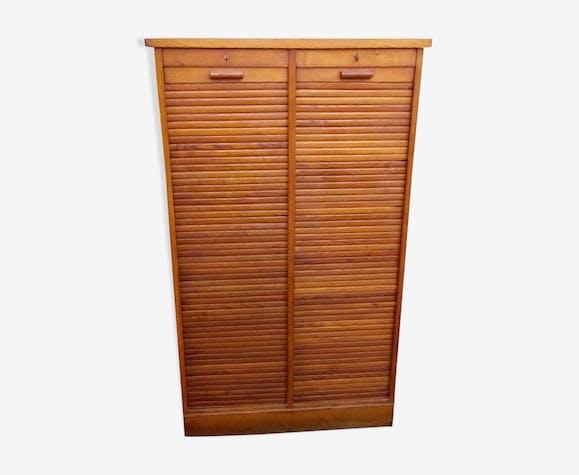 Furniture Cabinet curtain in oak