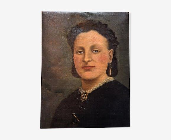 Portrait of a 19th century woman