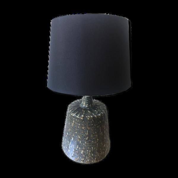 Lampe de table Gunnar Nylund et socle en marbre pour Rorstrand