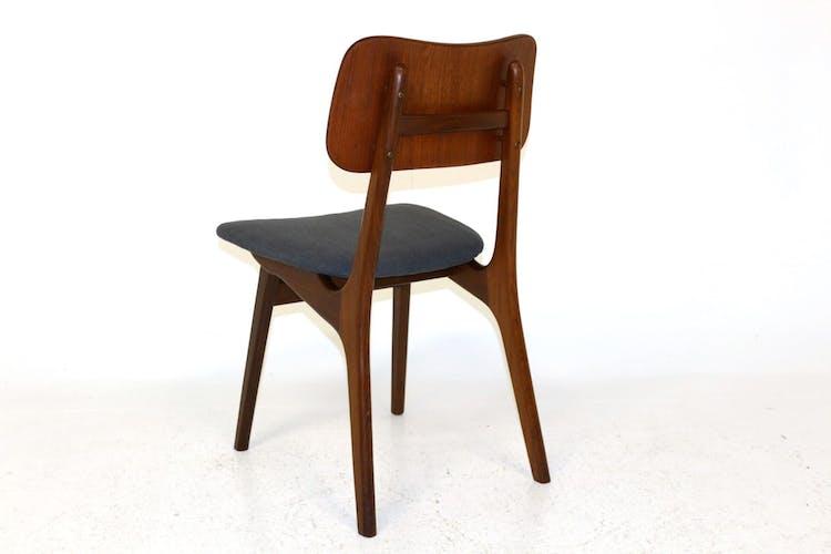Set de 6 chaises en teck, Ib Kofod Larsen, Danemark, 1960