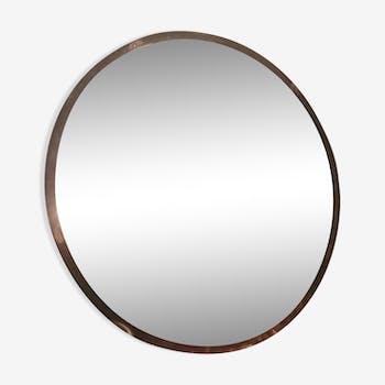 Miroir en fer vintage d 39 occasion for Miroir rond 90