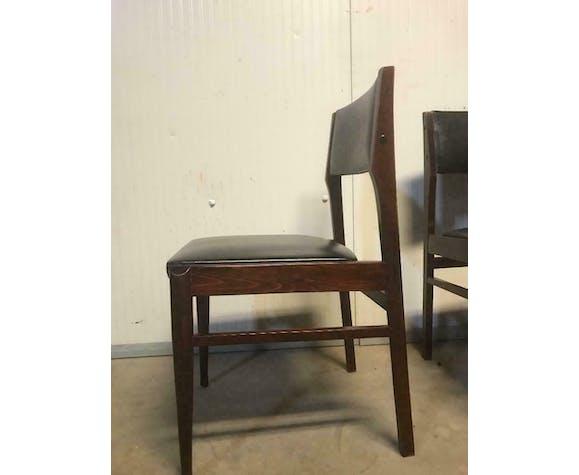 Ensemble de 6 chaises vintage