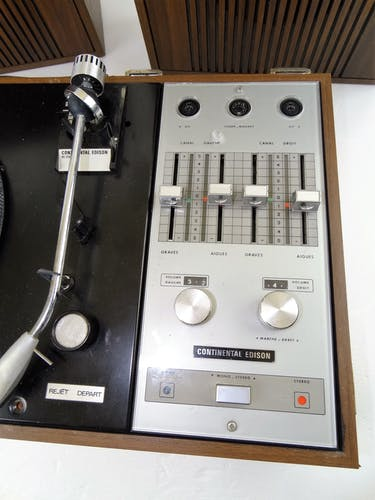 Electrophone stereo continental edison rc230 valise