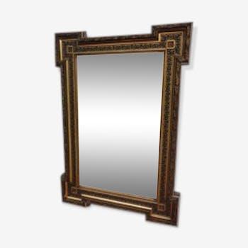 Miroirs biseaut s vintage d 39 occasion for Glace miroir sans cadre