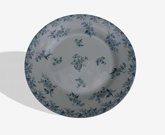 Lot de 8 assiettes anciennes porcelaine Gien