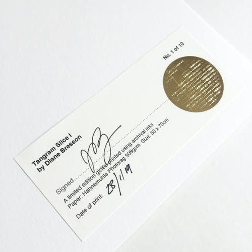 Tangram Slice VIII 50x70cm