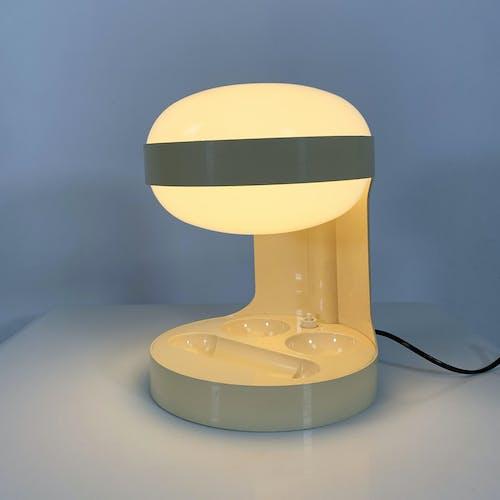 Lampe de able KD29 Beige par Joe Colombo pour Kartell, 1970