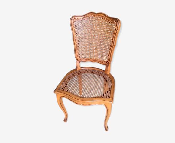 Chaise ancienne cann e bois mat riau bois couleur classique xyinahd - Style chaises anciennes ...