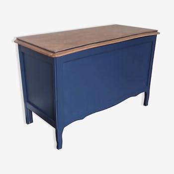 meuble coffre de rangement d 39 enfant vintage d 39 occasion. Black Bedroom Furniture Sets. Home Design Ideas
