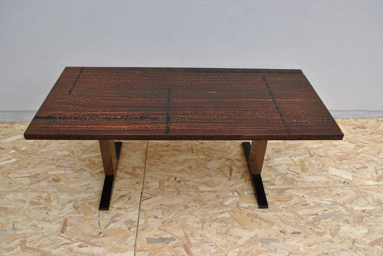 Table basse réglable en hauteur de Ilse Möbel 1960