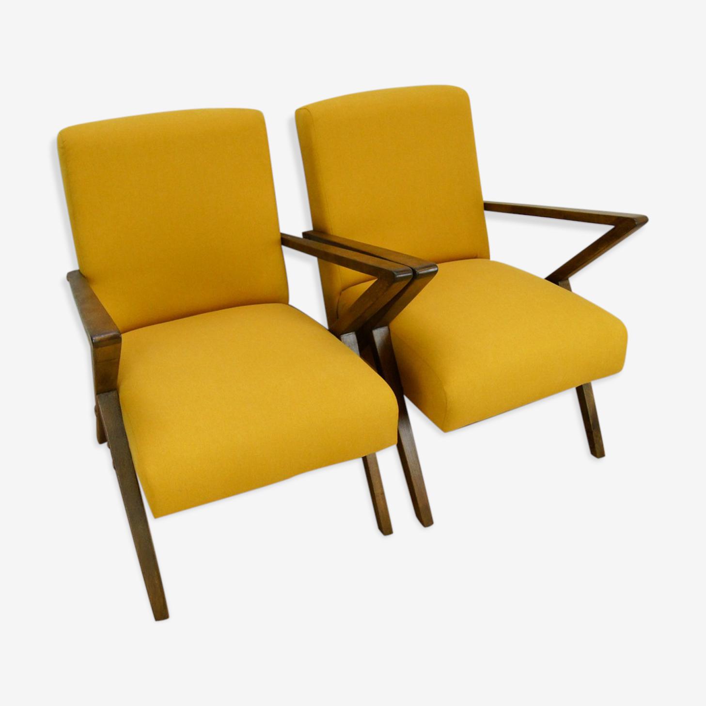 Polish armchairs from Bydgoszcz Cooperative Odnowa 1970