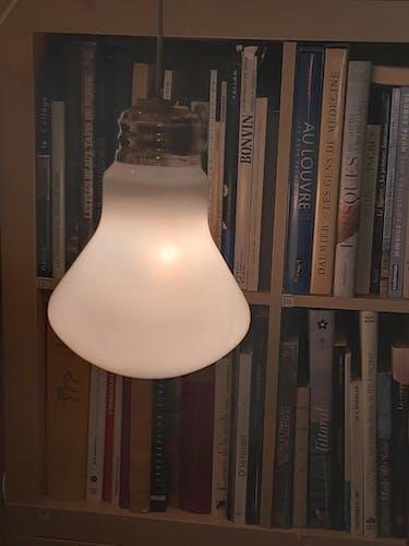 Suspension ampoule années 70