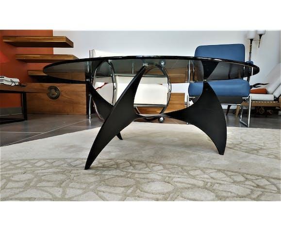 Table basse ronde la Propeller (Hélice) de Knut Hesterberg