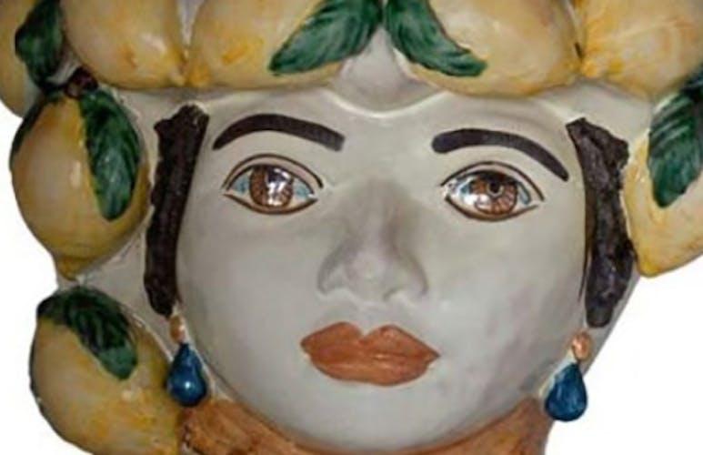 Vase citron petit femme