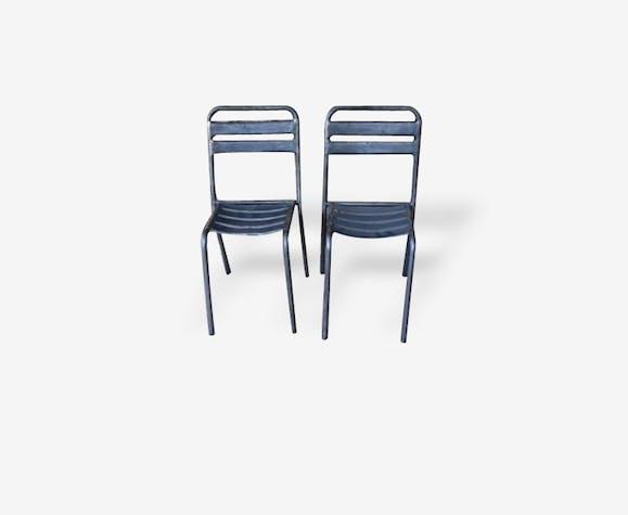 """Ancienne chaise de bistrot """"Richard"""" - modèle 1"""