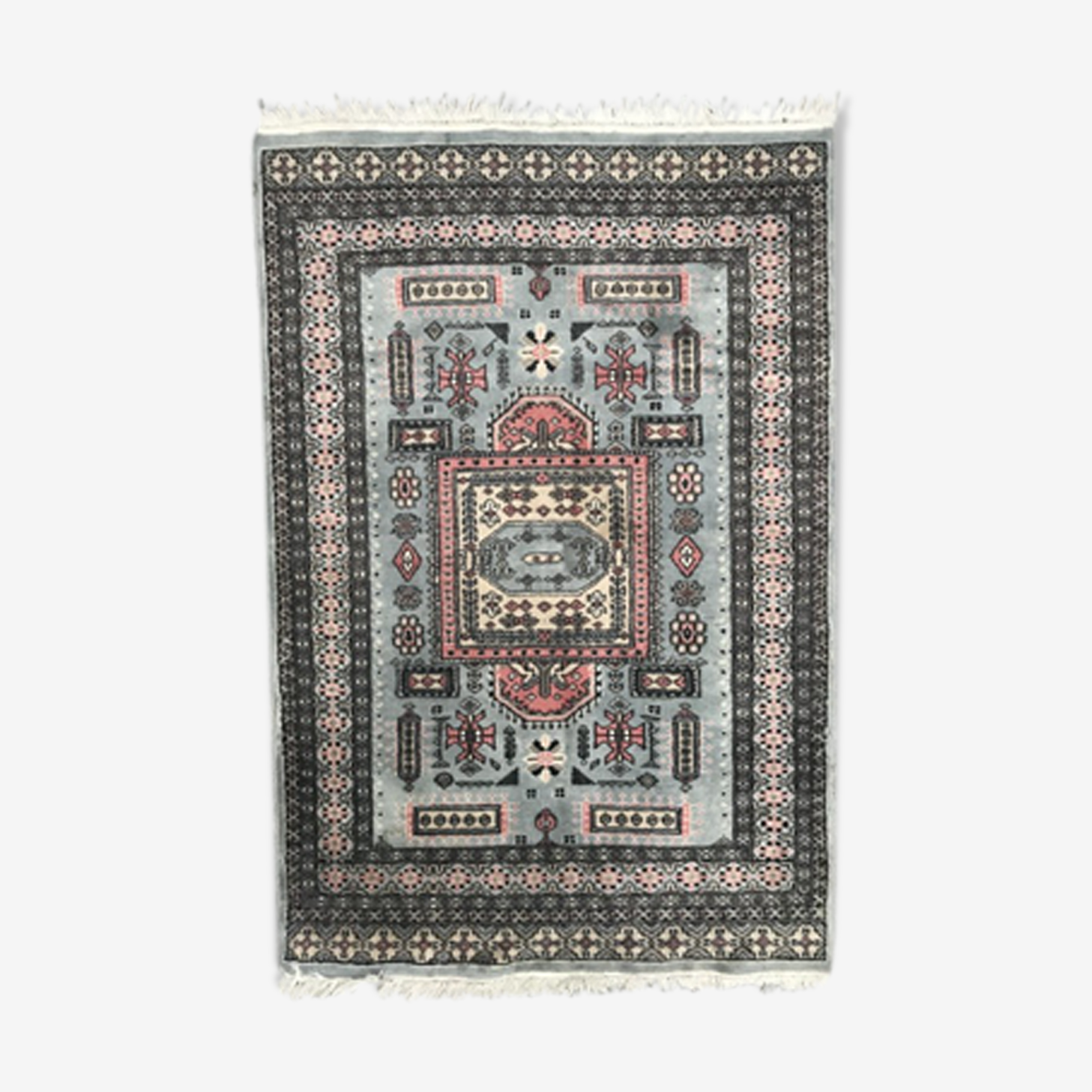 Pakistan is 125 X 190 CM hand vintage carpet