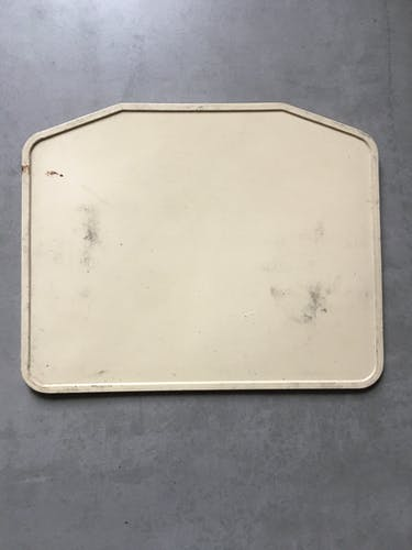 Old bus line plate 88 barred