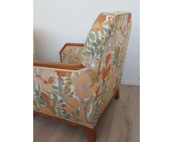 Pair of armchairs art deco 1930