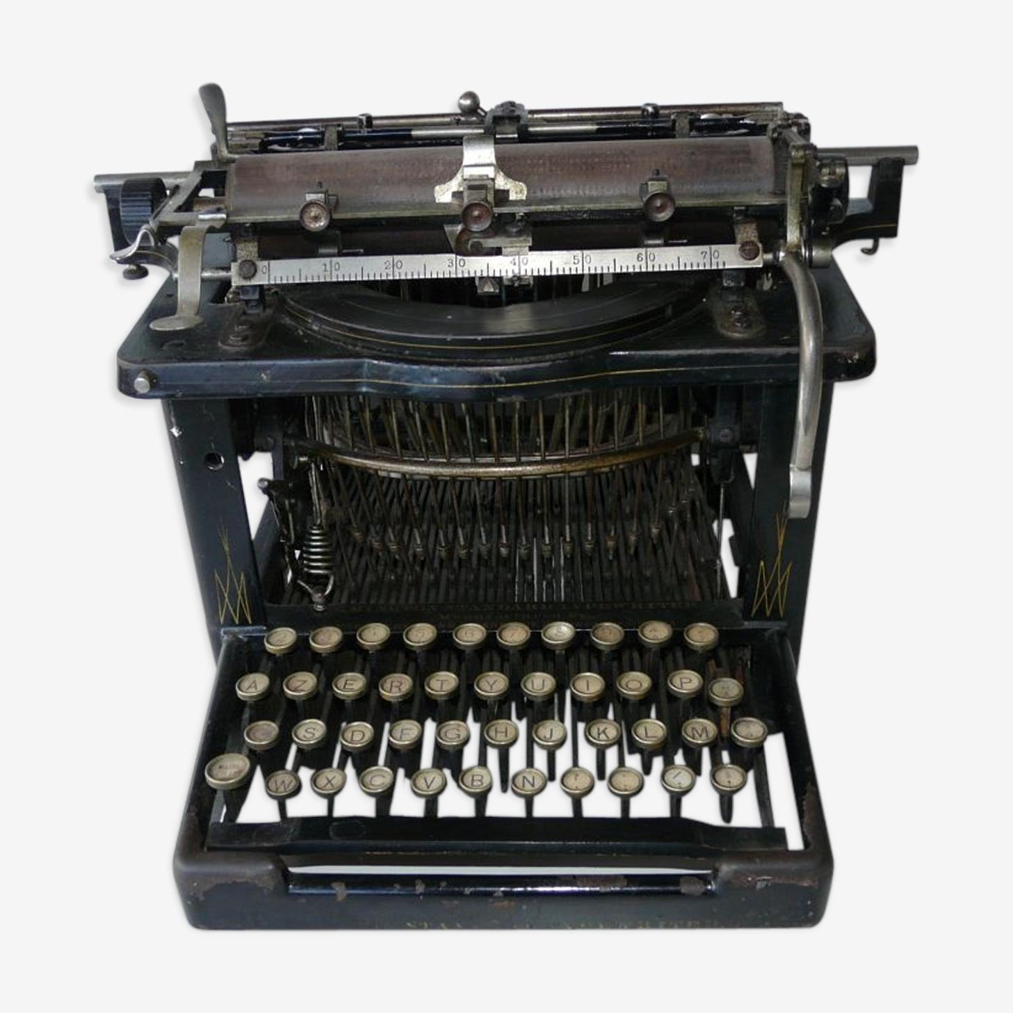 Machine à écrire Remington standart tapewriter n°7 1908