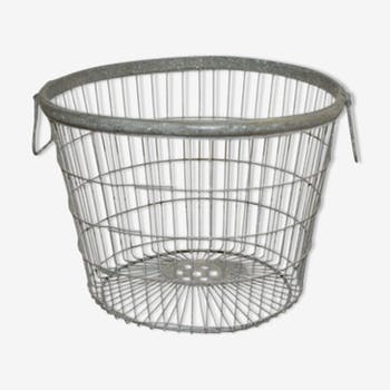 Industrial iron basket