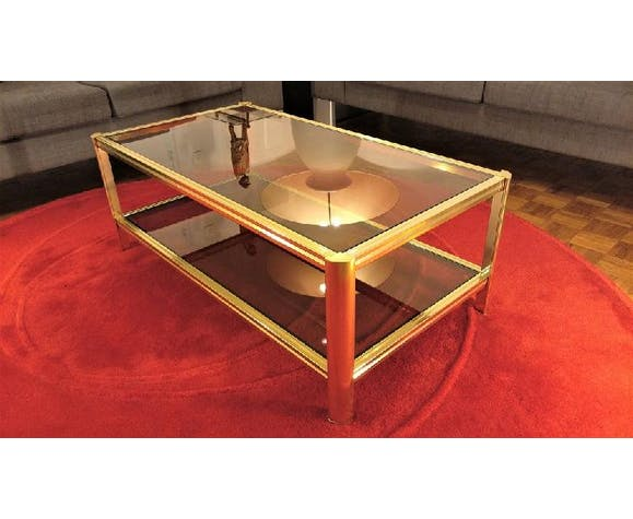 Table Basse Roche Bobois Annees 70 80 Selency