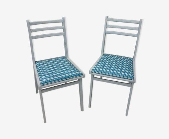 Paire de chaises esprit scandinave