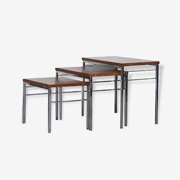 Tables gigognes années 60