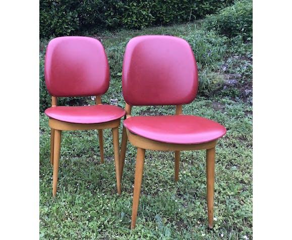 Paire de chaises Baumann Pégase