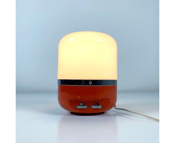 Lampe de table et AM Radio par Adriano Rampoldi pour Europhon, 1970