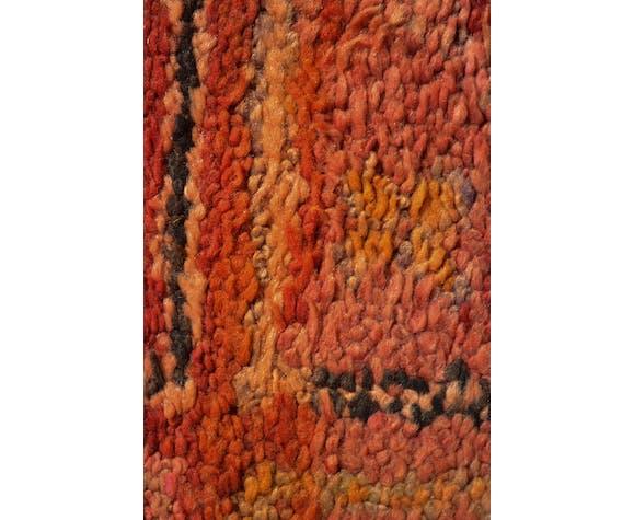 Carpet Berber red vintage - 360 x 168 cm