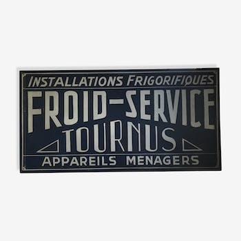 Plaque vintage d 39 occasion enseigne d 39 occasion lettre for Panneau publicitaire garage automobile