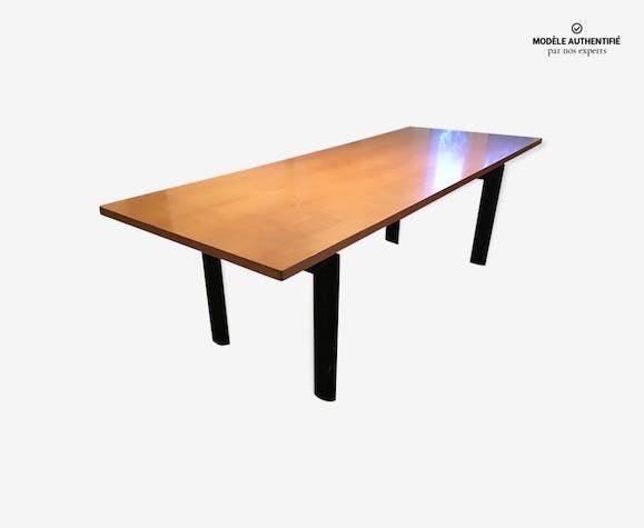 Table Le Corbusier LC6 plateau bois - bois (Matériau) - noir ...