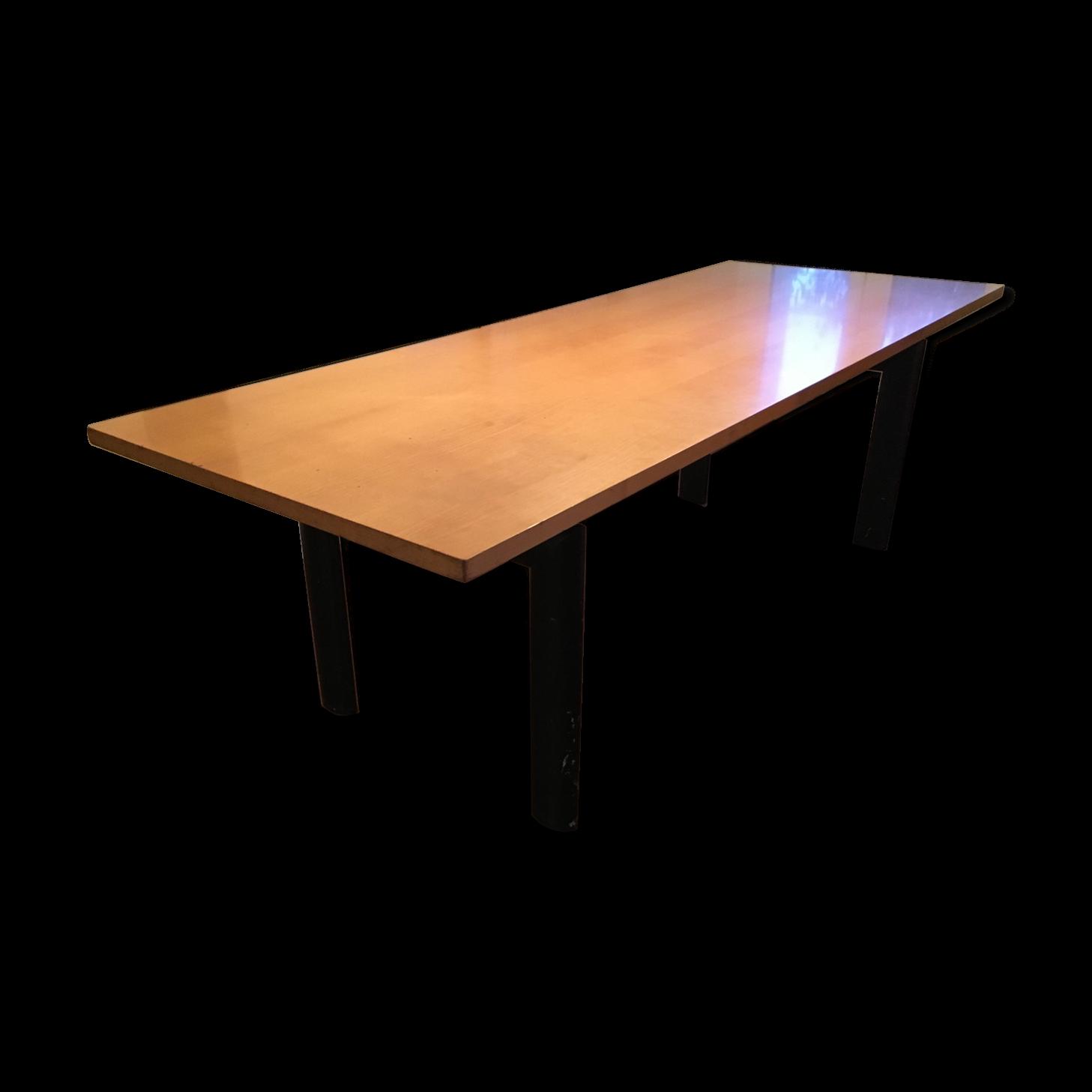 Table Le Corbusier LC6 Plateau Bois