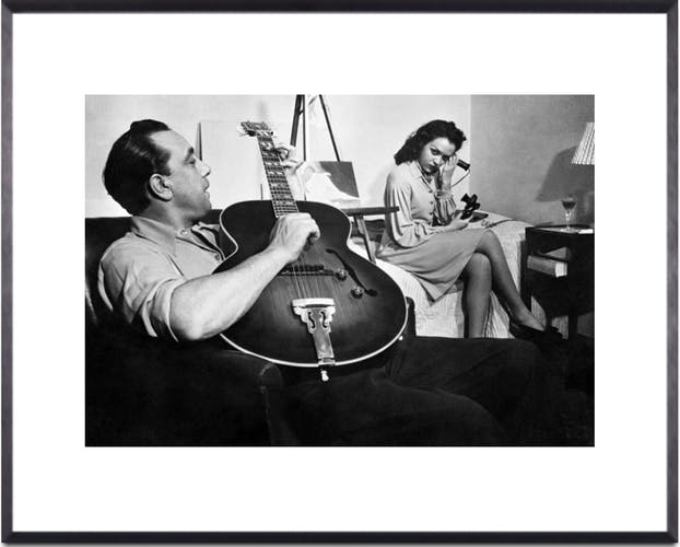 Django Reinhardt, inventor of jazz on strings