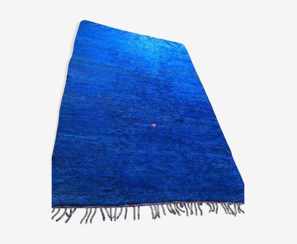 Tapis Mrirt bleu majorelle