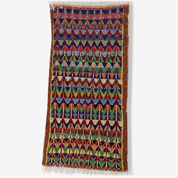 Carpet boucharouette, 215 x 115