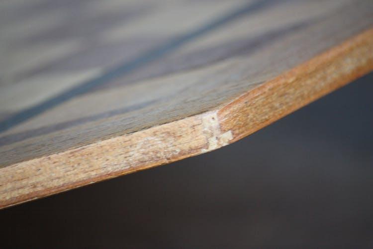 Plateau d'échec en bois marqueté