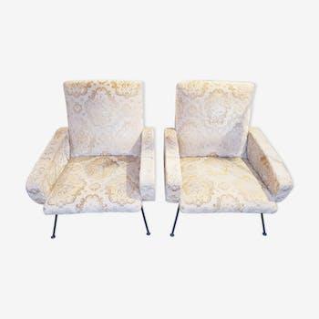 2 vintage armchairs