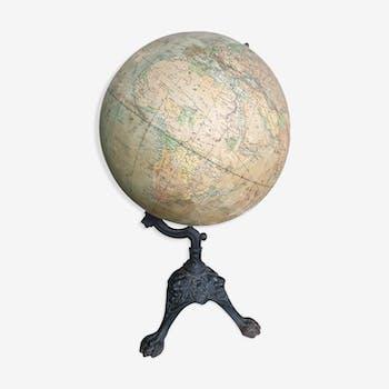 Globe terrestre XIXème