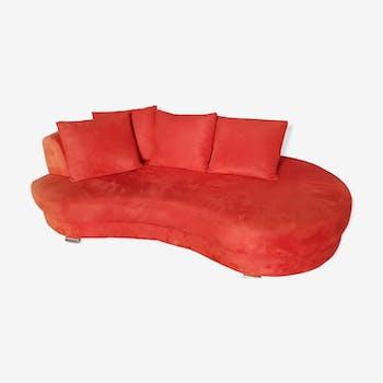 Canapé rouge vintage