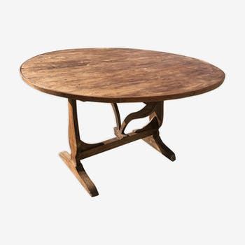 Table cible vigneronne ancienne