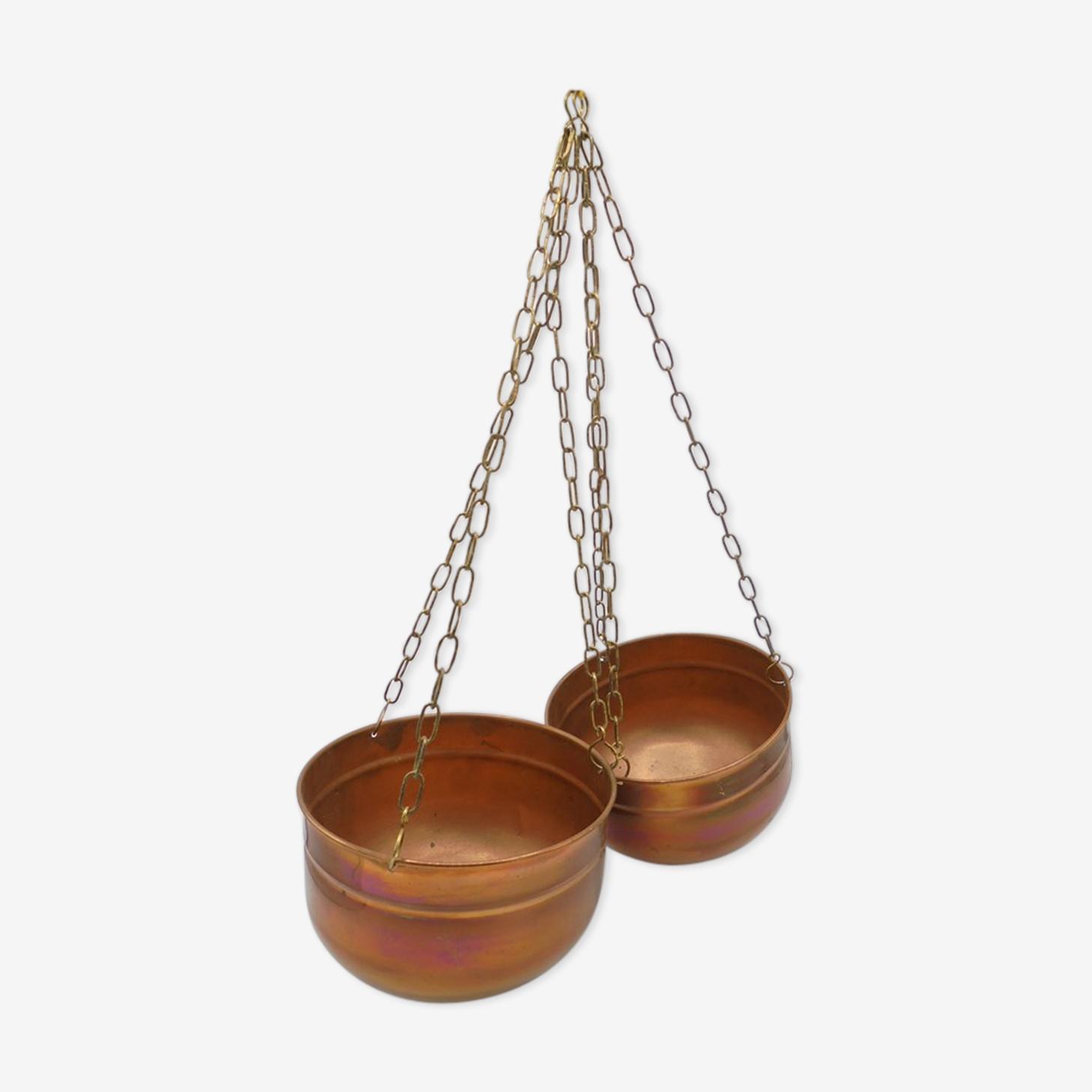 Paire de cache-pot suspendus