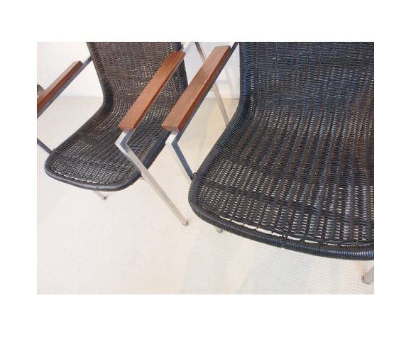 Pair of chairs Dirk Sliedregt