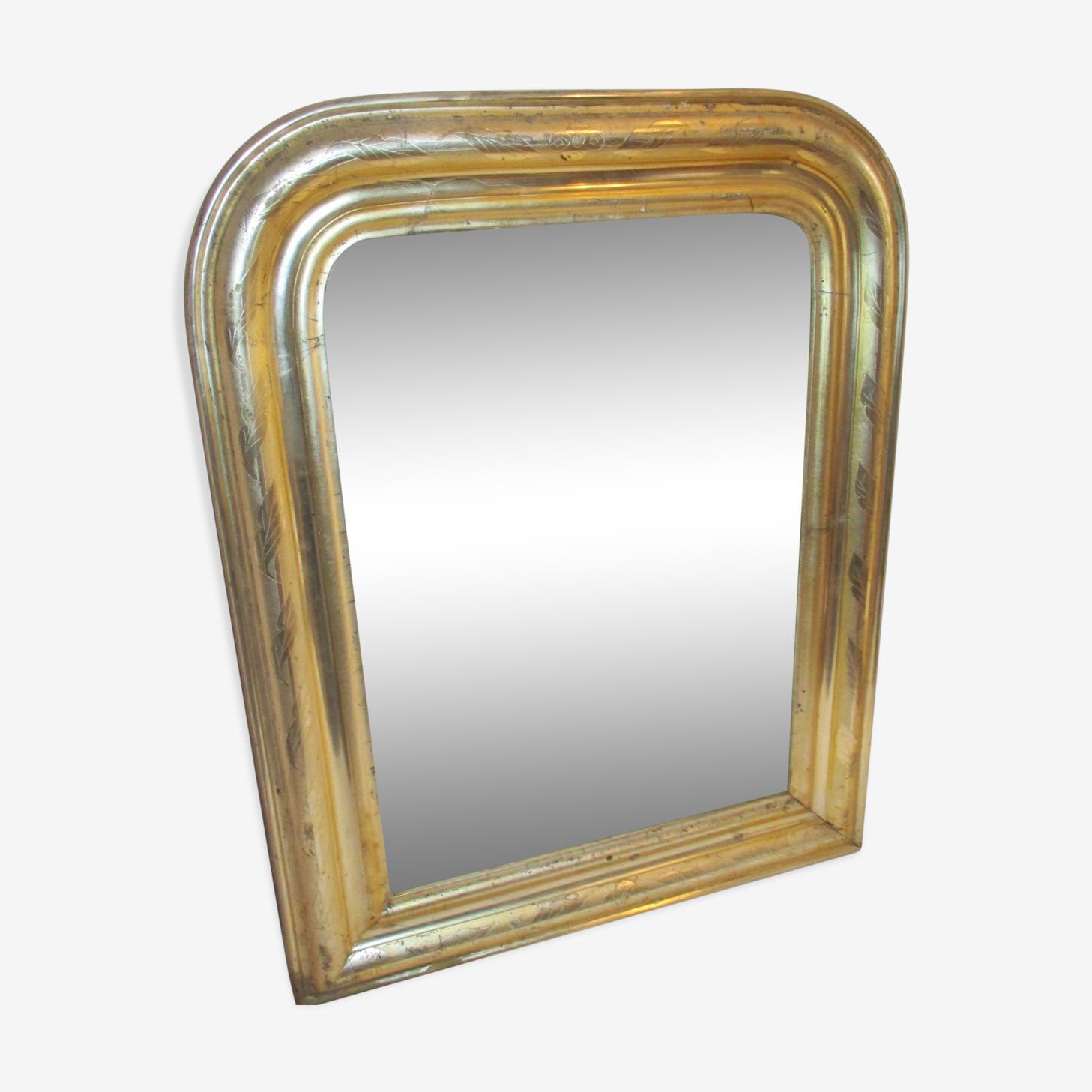 Miroir milieu 19ème 58x39cm