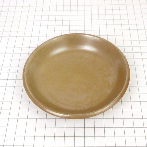 Assiette en grès de Brenne