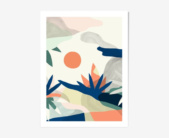 Jungle 30x40 par Noémie Cédille